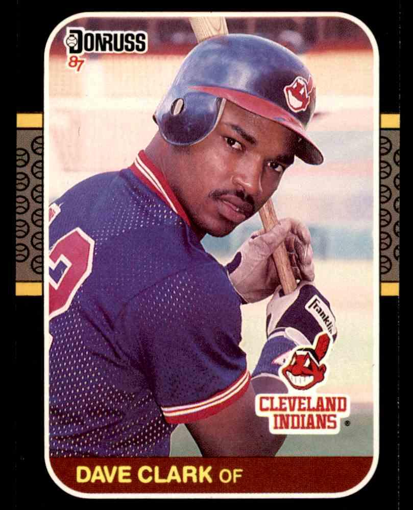 1987 Donruss Dave Clark #623 card front image