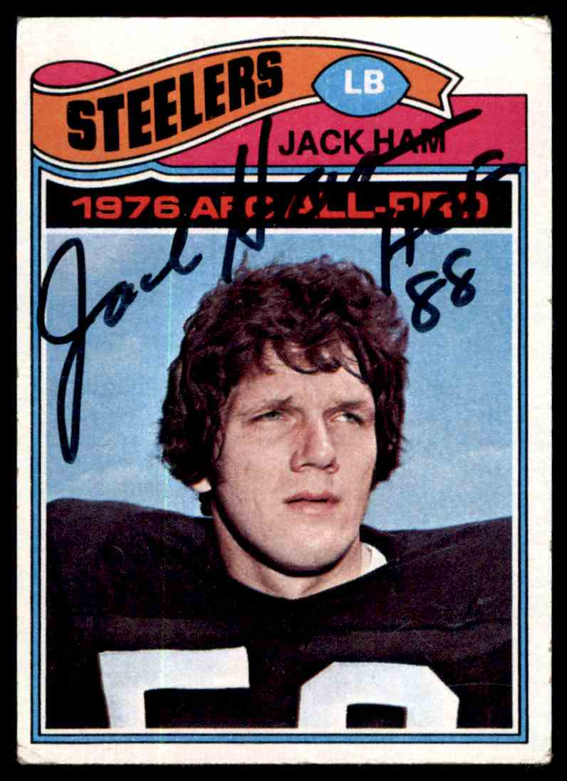 the latest f46e8 f0349 2 Jack Ham Autograph Jsa Auction Coa trading cards for sale