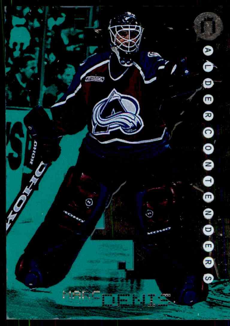 1999-00 Bap Millennium Calder Candidates Emerald Marc Denis #C43 card front image