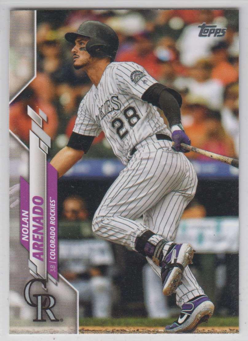 2020 Topps Nolan Arenado #230 card front image