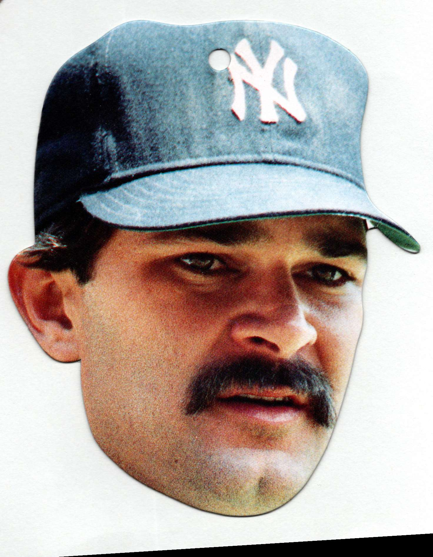 1990 Topps Heads Up Don Mattingly #19 card front image