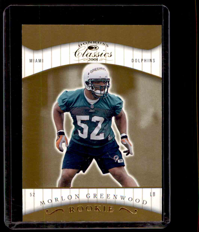 2001 Donruss Classics Morlon Greenwood #145 card front image