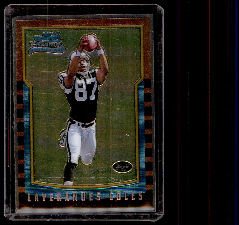 2000 Bowman Chrome Laveranues Coles #192 card front image
