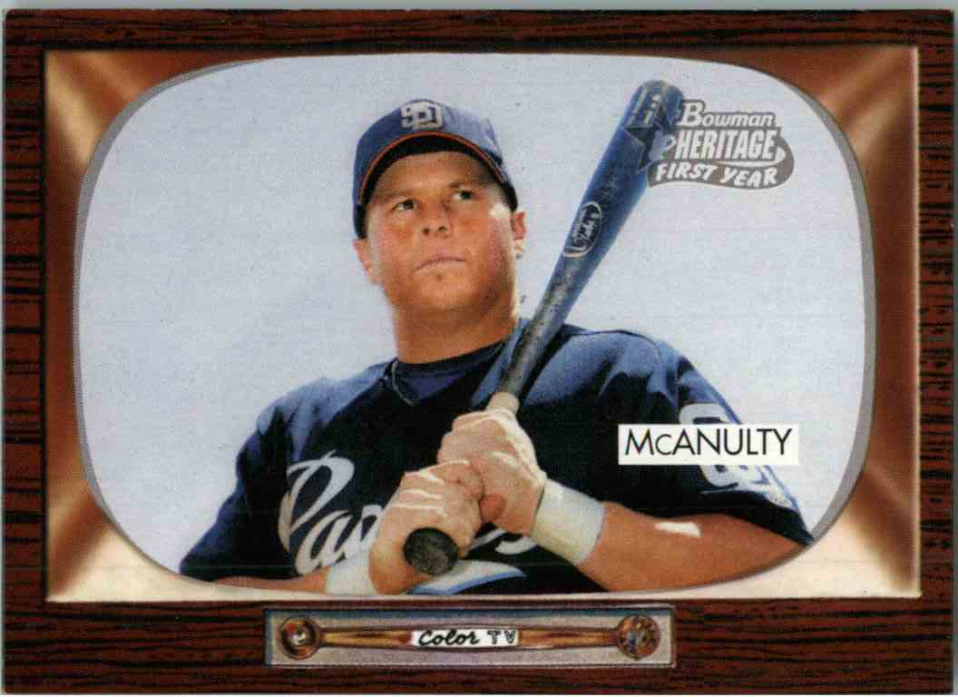 2004 Bowman Heritage Paul McAnulty #294 card front image