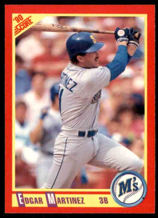 1990 Score Edgar Martinez #324 card front image