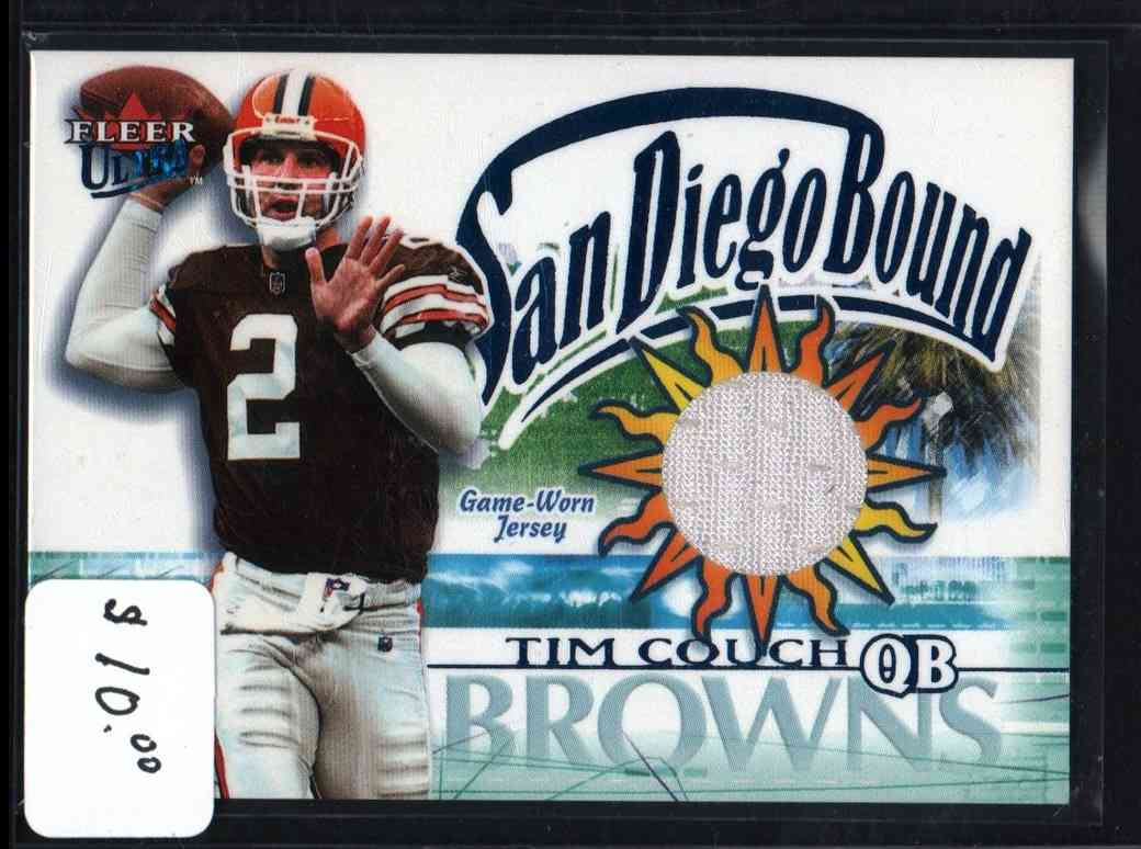 2002 Fleer Tim Couch #NNO card front image