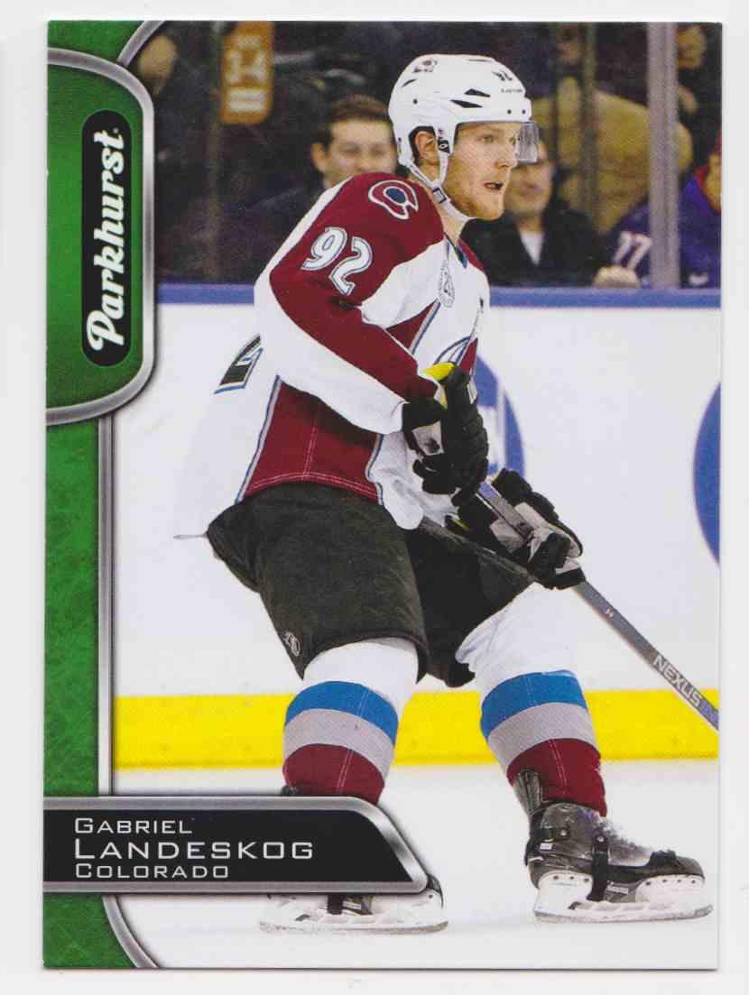2016-17 Parkhurst Gabriel Landeskog #79 card front image