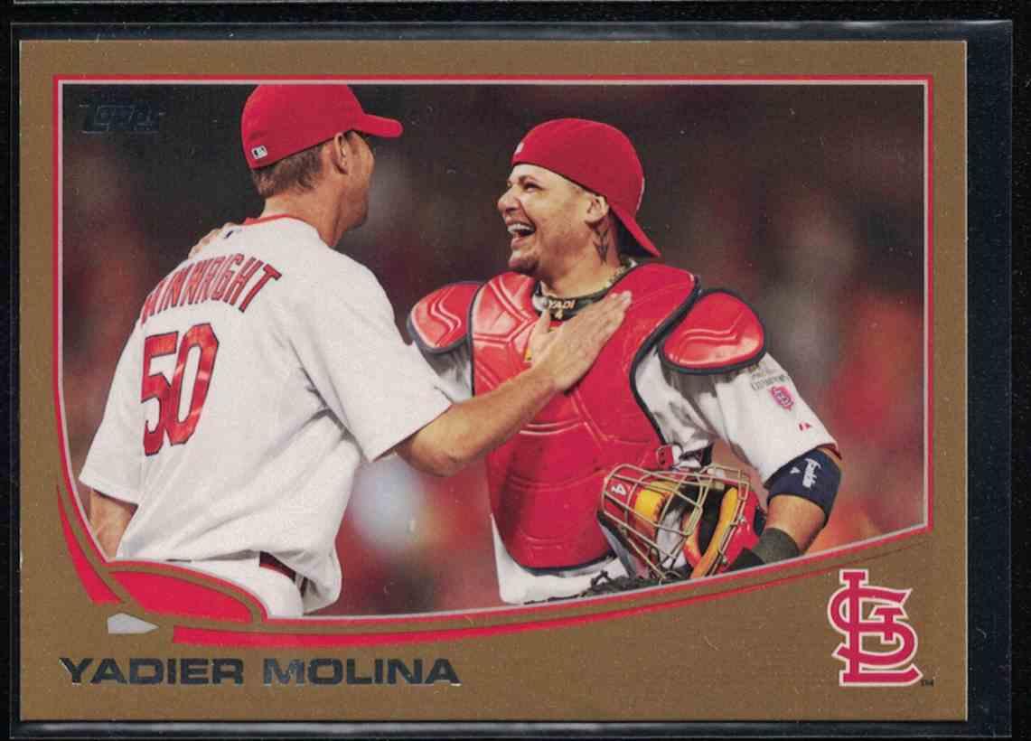 Topps 2013 Baseball #4 Yadier Molina Yadier Molina