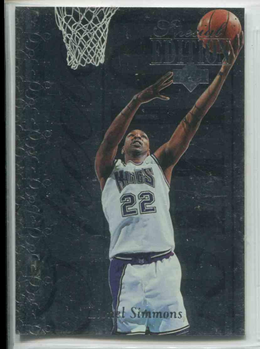1995 96 Upper Deck Special Edition Lionel Simmons SE77 on Kronozio