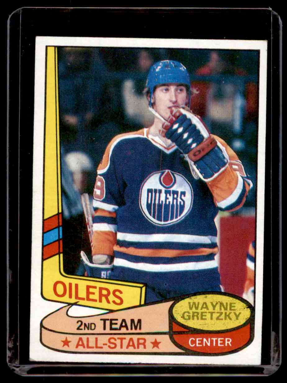1980-81 Topps Wayne Gretzky #87 card front image