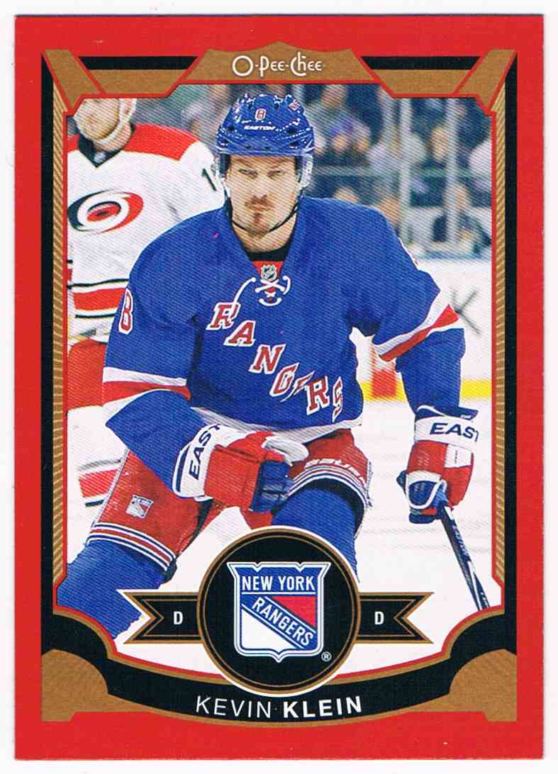 2015-16 O-Pee-Chee Red Kevin Klein #453 card front image