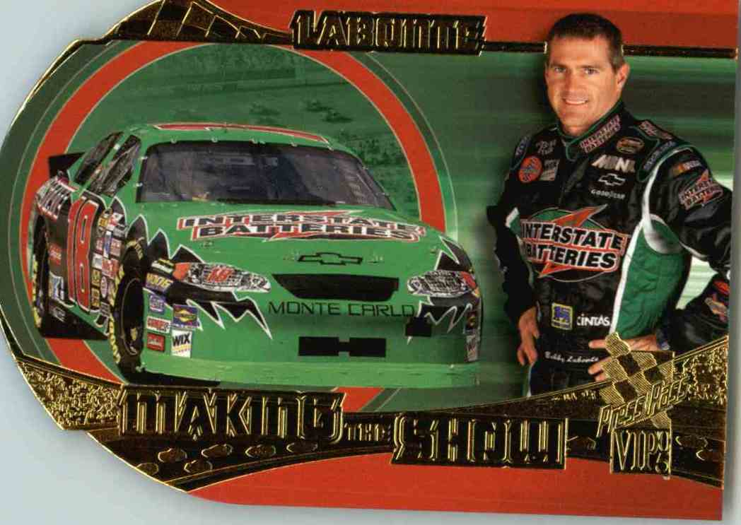 2005 Press Pass Vip Bobby Labonte #MS12 card front image