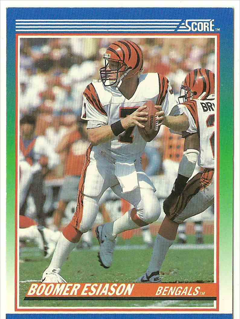 1990 Score Boomer Esiason #40 card front image