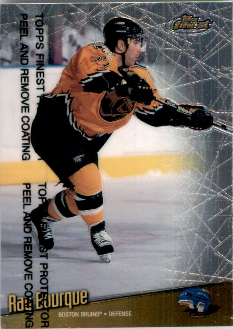 1998-99 Finest Ray Bourque #101 card front image