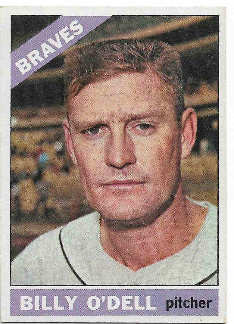 1966 Topps Billy O'Dell #237 card front image