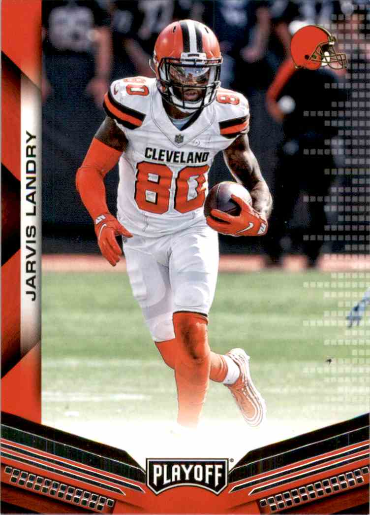2019 Playoff Jarvis Landry #38 card front image