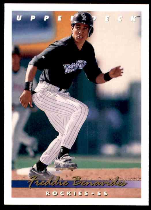 1993 Upper Deck Freddie Benavides #732 card front image