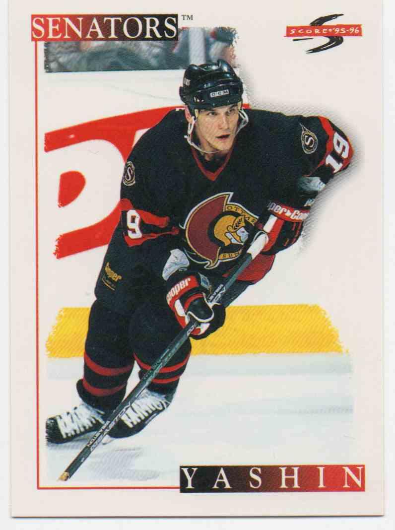 1995-96 Score Alexei Yashin #230 card front image