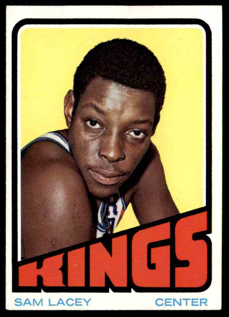 1972-73 Topps Sam Lacey #63 card front image