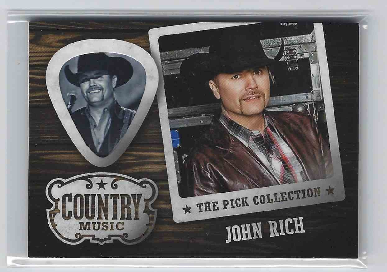2015 Country Music Pick Collection John Rich #25 card front image
