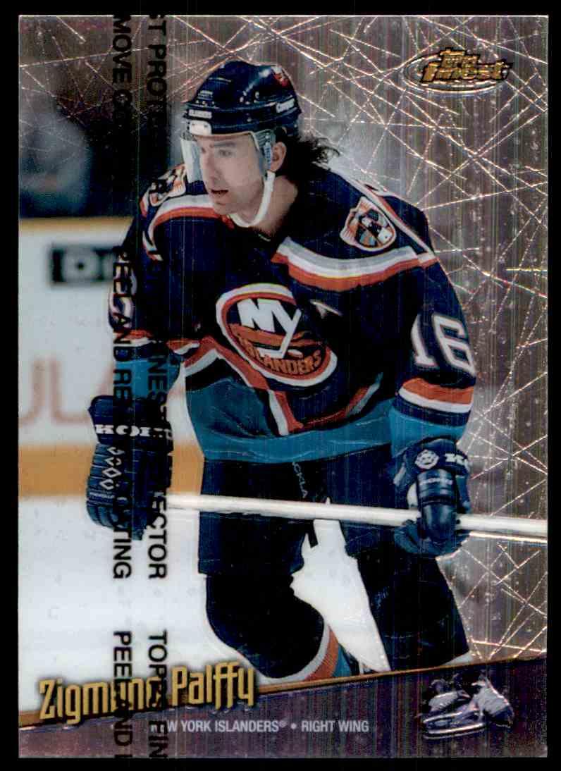 1998-99 Topps Finets Zigmund Palffy #40 card front image