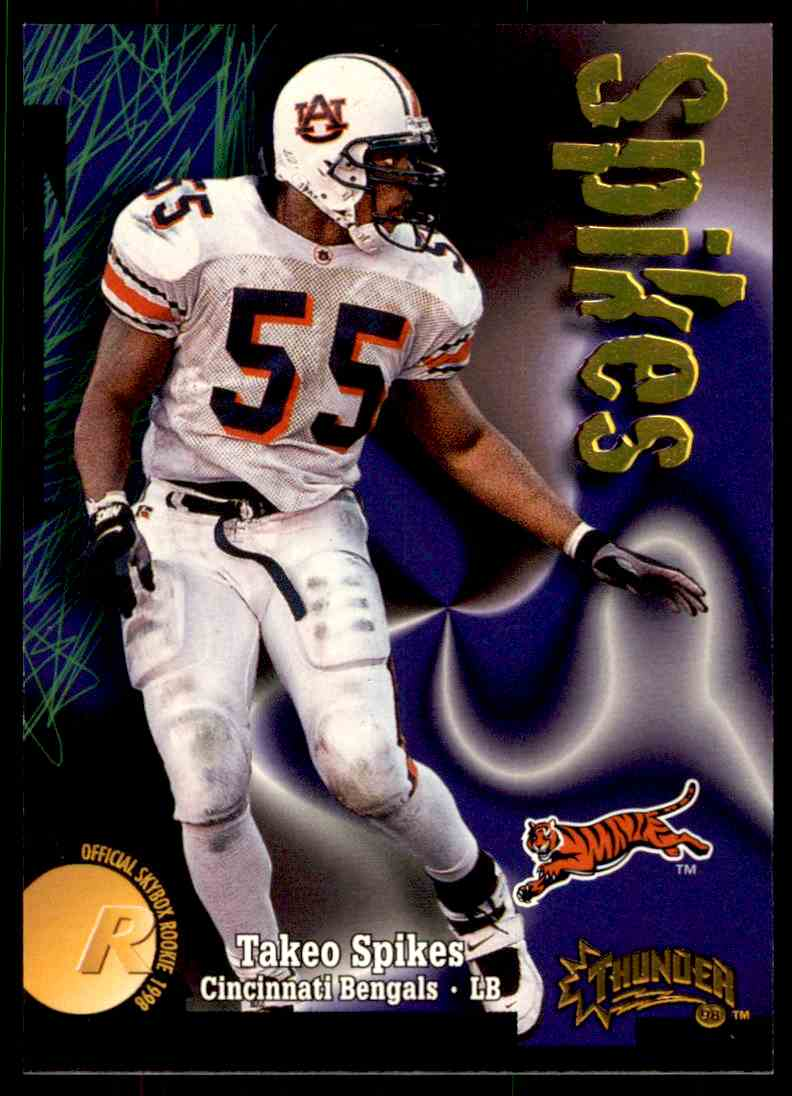 1998 Skybox Thunder Takeo Spikes #247 card front image