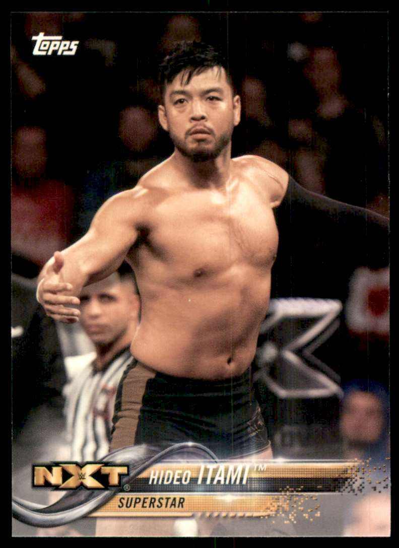 2018 Topps Wwe Hideo Itami #37 card front image