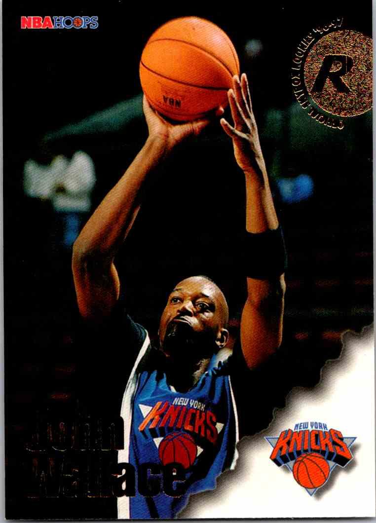 1997-98 NBA Hoops John Wallace #315 card front image