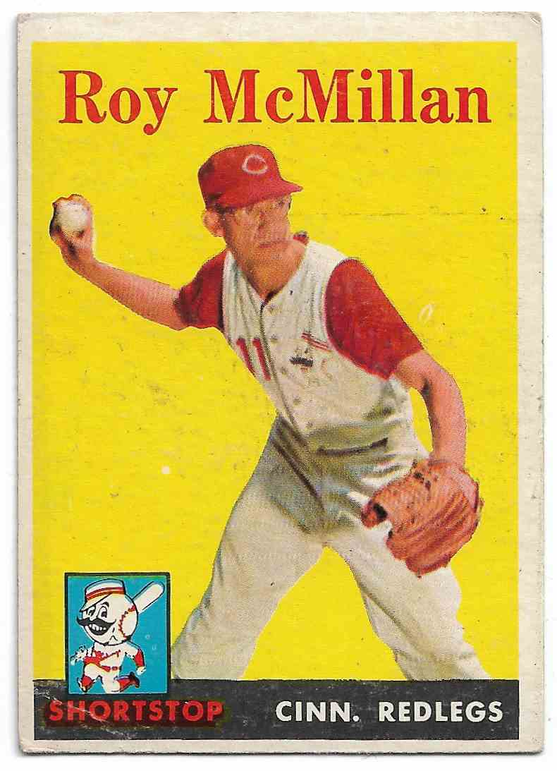 1958 Topps Roy McMillan #360 card front image