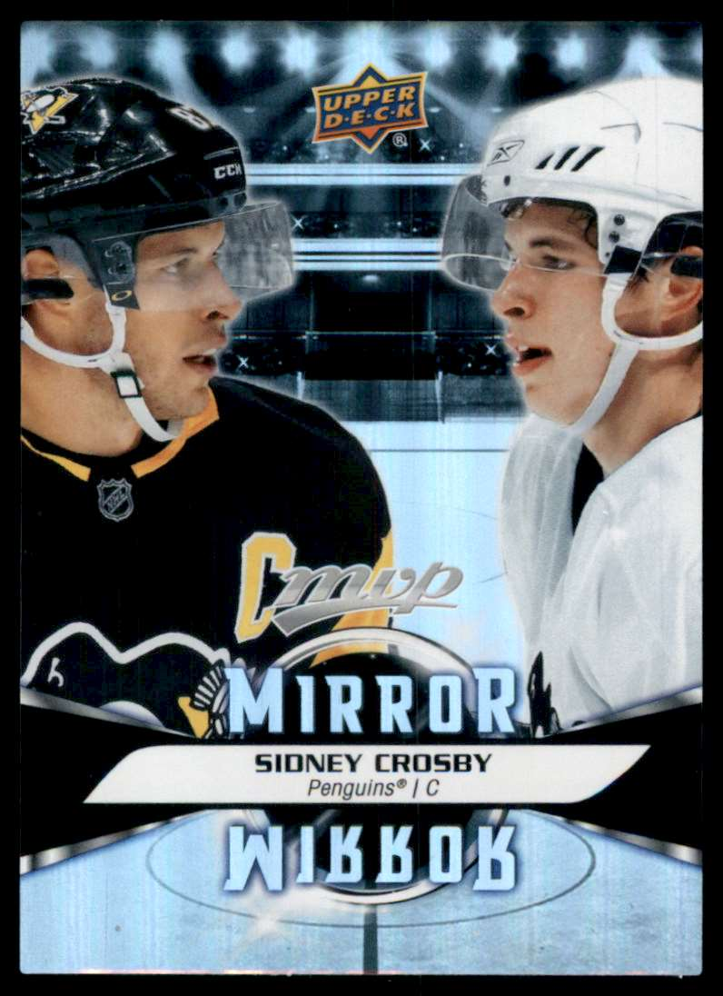 2020-21 Upper Deck MVP Mirror Mirror Variation Sidney Crosby #MM4 card front image