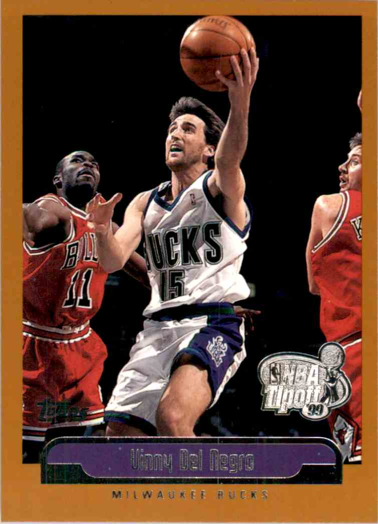 1999-00 Topps Tip-Off Vinny Del Negro #92 card front image