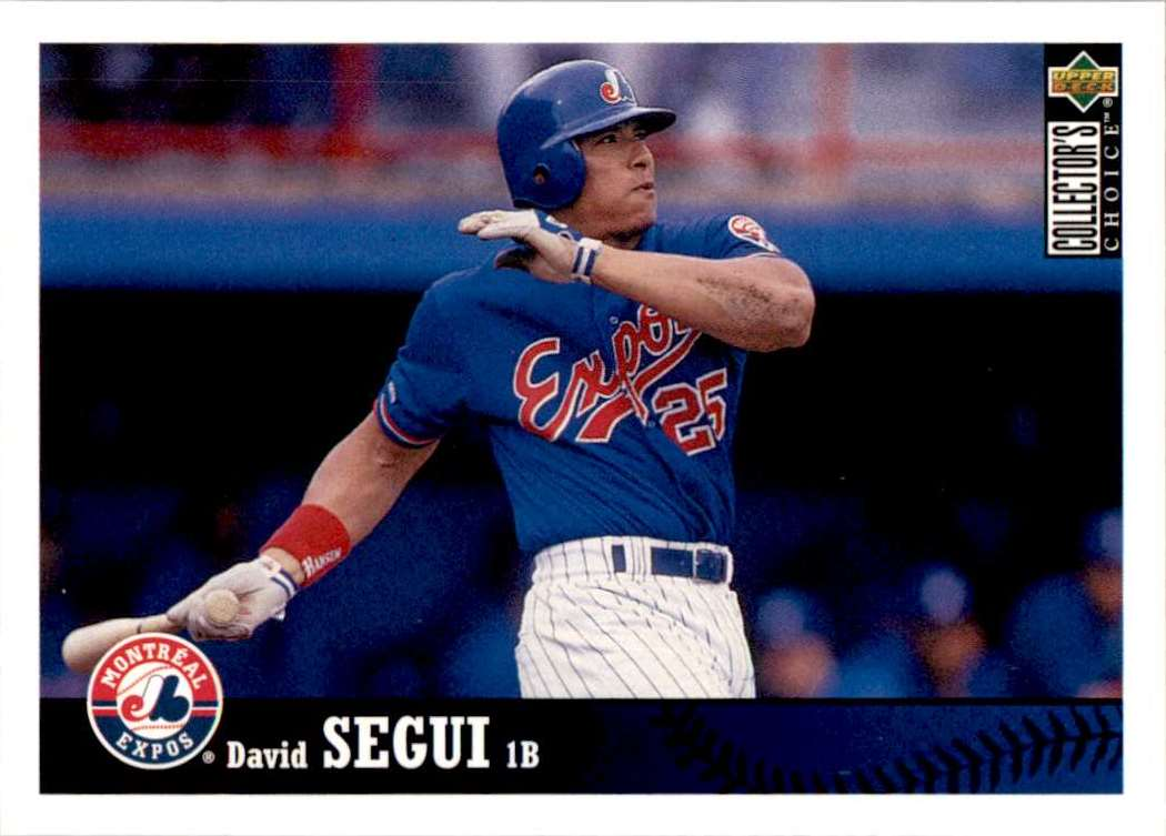 1997 Upper Deck Collector's Choice David Segui #159 card front image