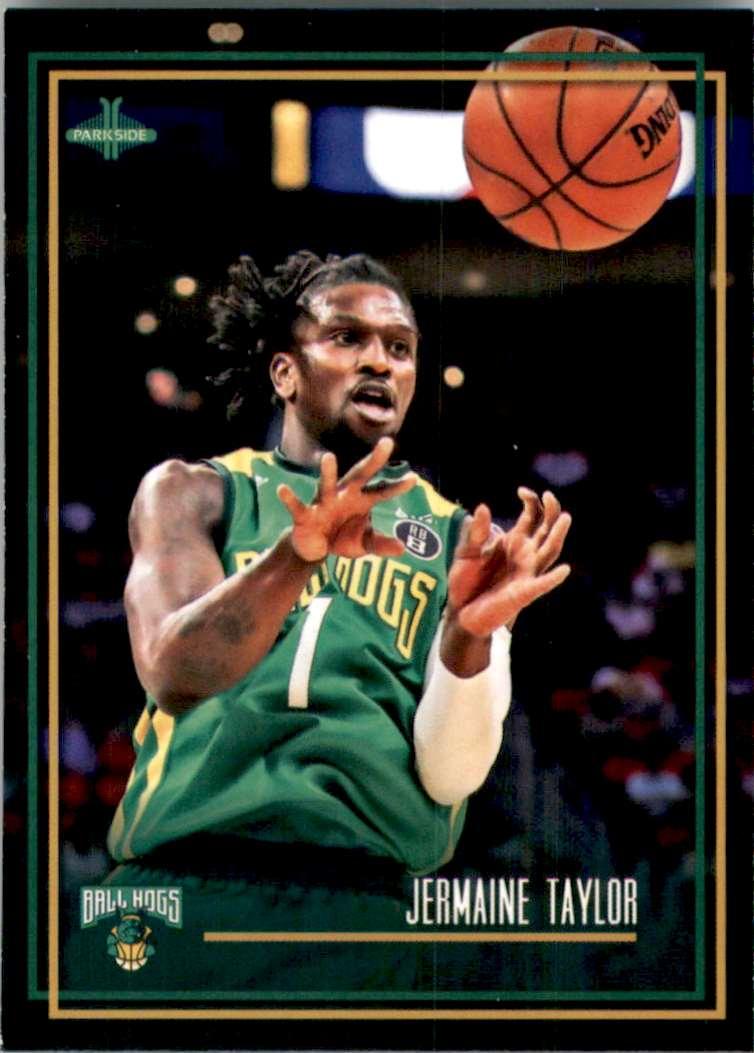 2019-20 Parkside BIG3 Jermaine Taylor #22 card front image