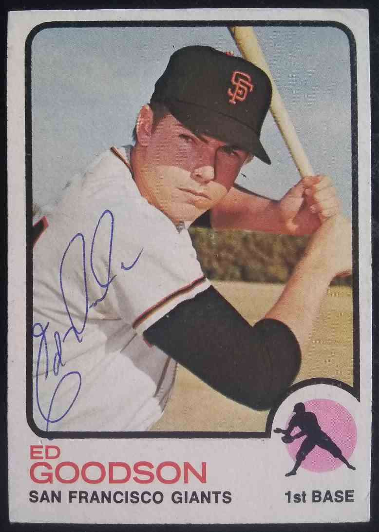 1973 Topps Ed Goodson #197 card front image