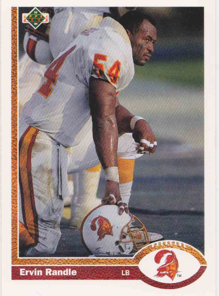 1991 Upper Deck Ervin Randle #369 card front image