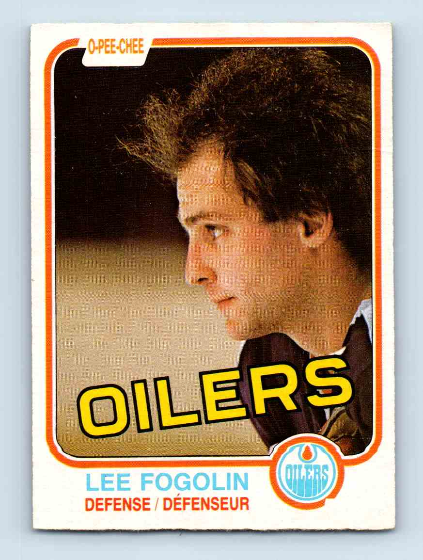 1981-82 O-Pee-Chee Lee Fogolin #112 card front image