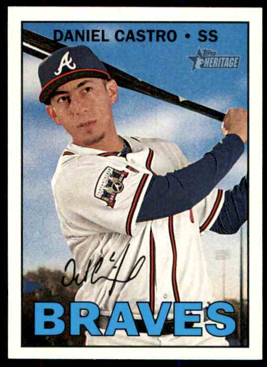 2016 Topps Heritage Daniel Castro #543 card front image