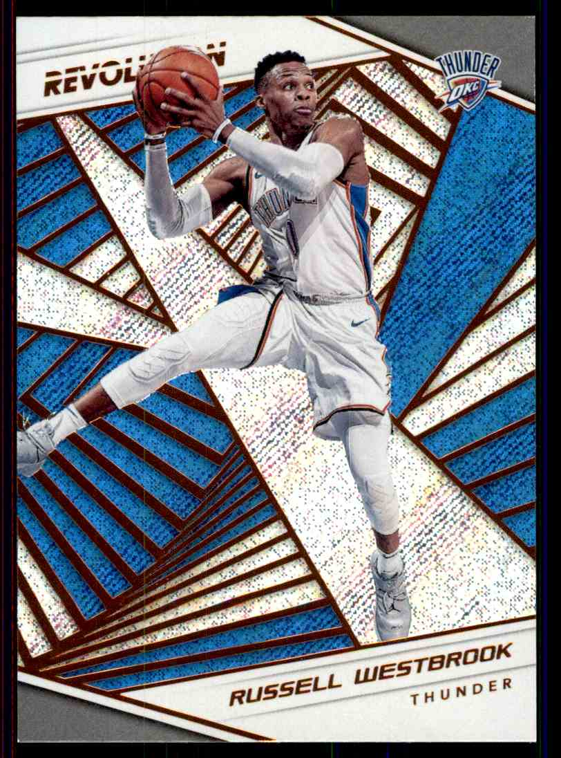 2018-19 Panini Revolution Base Russell Westbrook #63 card front image