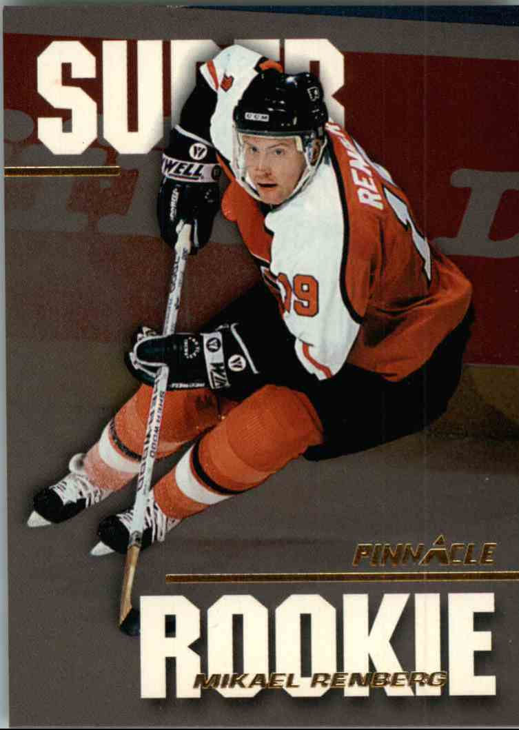 1994-95 Pinnacle Mikael Renberg #SR6 card front image
