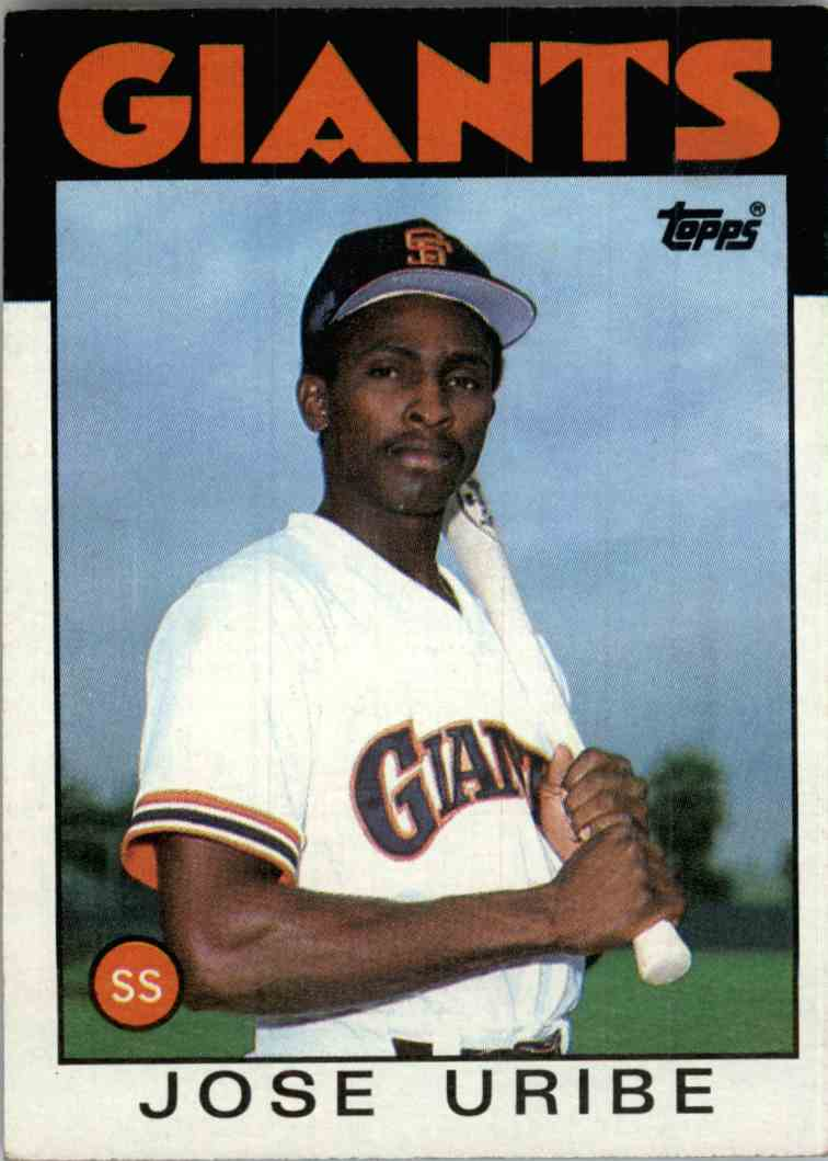 197 Jose Uribe Trading Cards For Sale