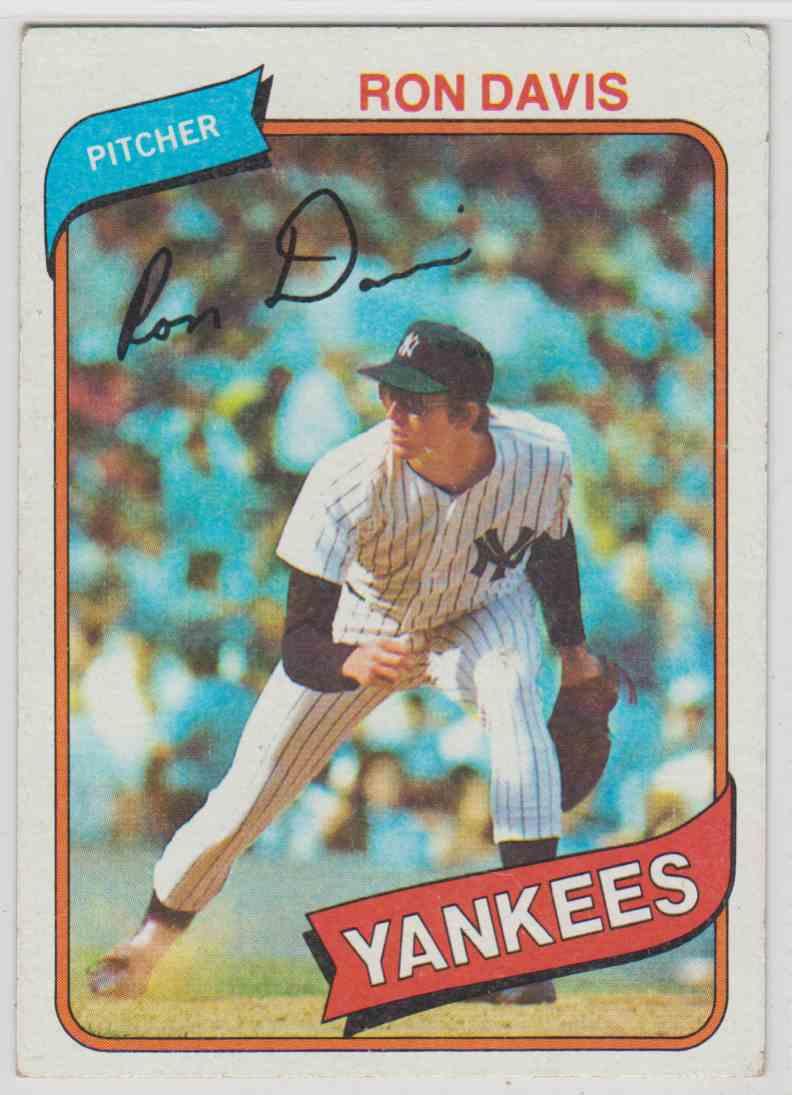 1980 Topps Ron Davis 179 On Kronozio