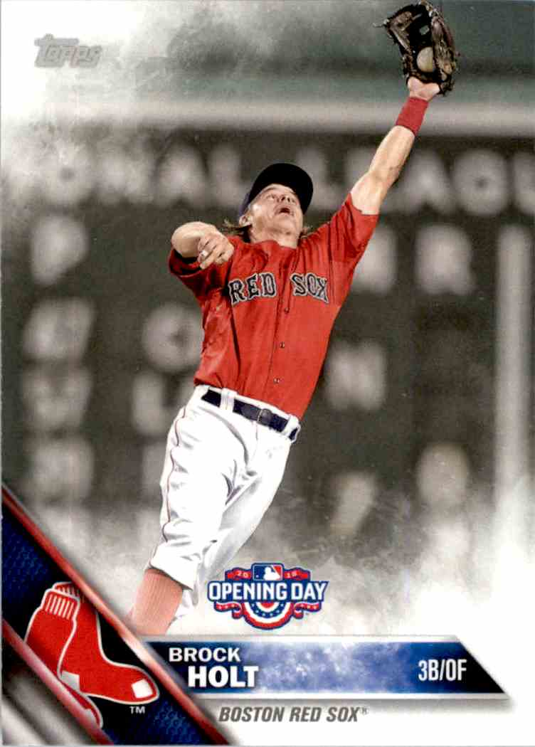 2016 Topps Opening Day Brock Holt #OD-103 card front image