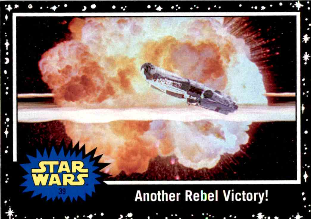 2017 Topps Star Wars Another Rebel Victory! card front image