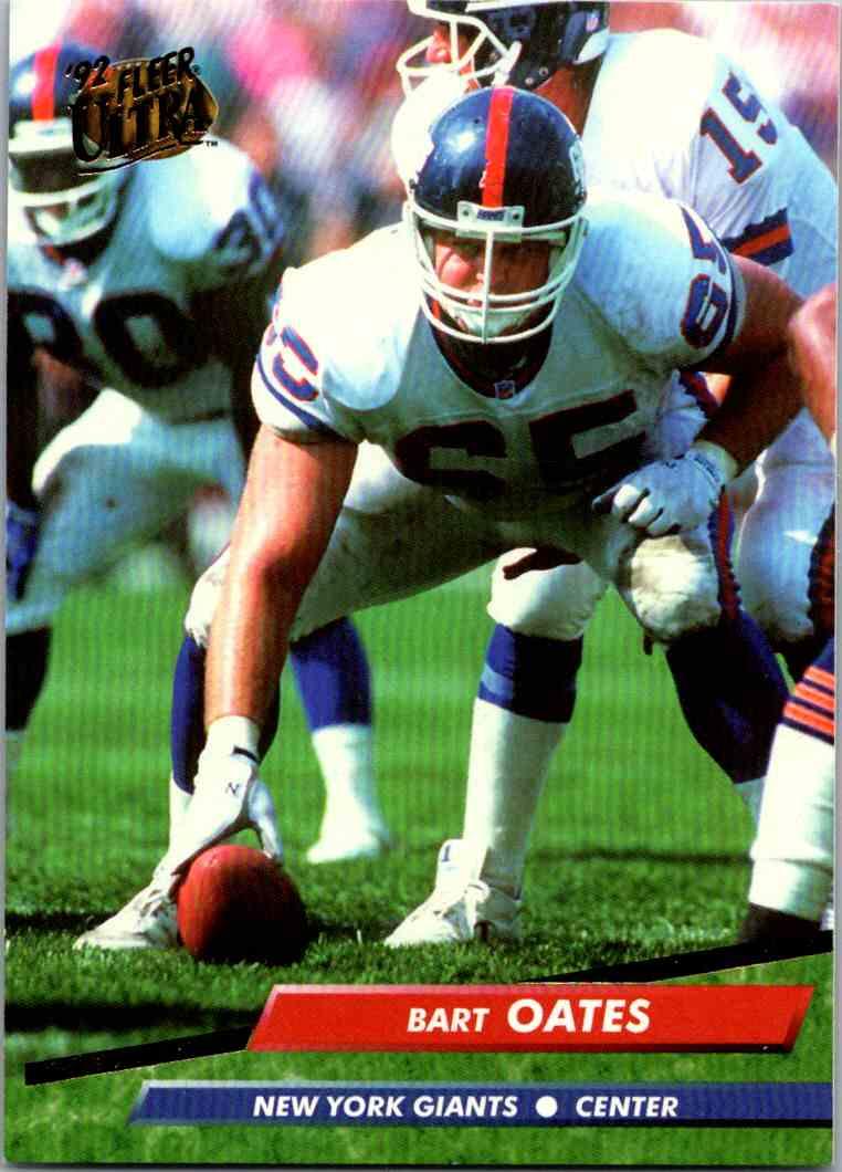 1992 Fleer Ultra Bart Oates #285 card front image