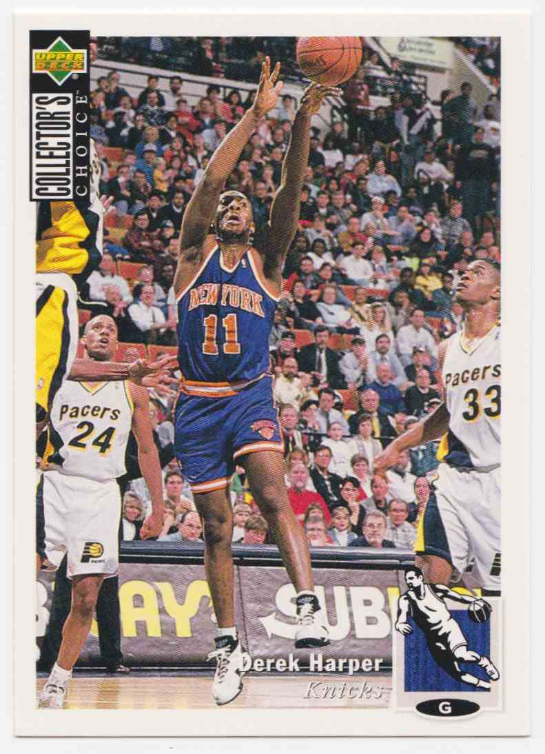 1994-95 Upper Deck Collector's Choice Base Derek Harper #99 card front image