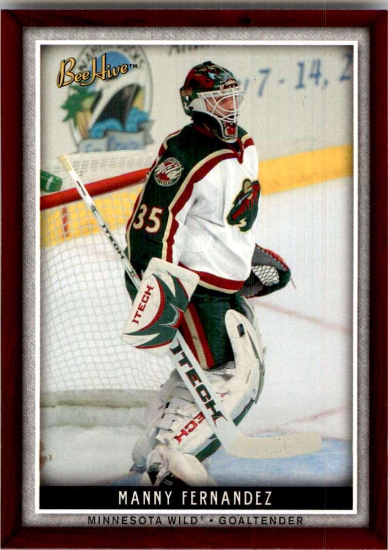 2006-07 Upper Deck Beehive Manny Fernandez #52 card front image