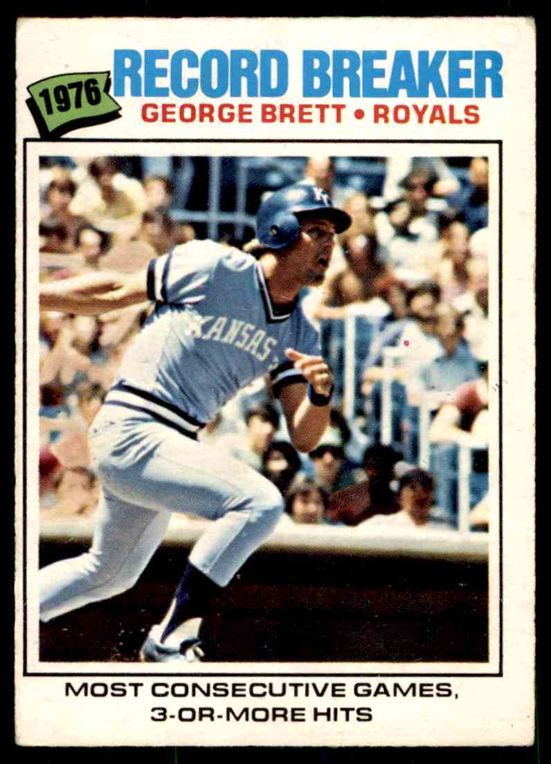 1977 O-Pee-Chee George Brett #261 card front image