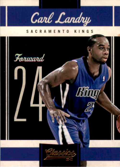 2010-11 Classics Carl Landry #32 card front image