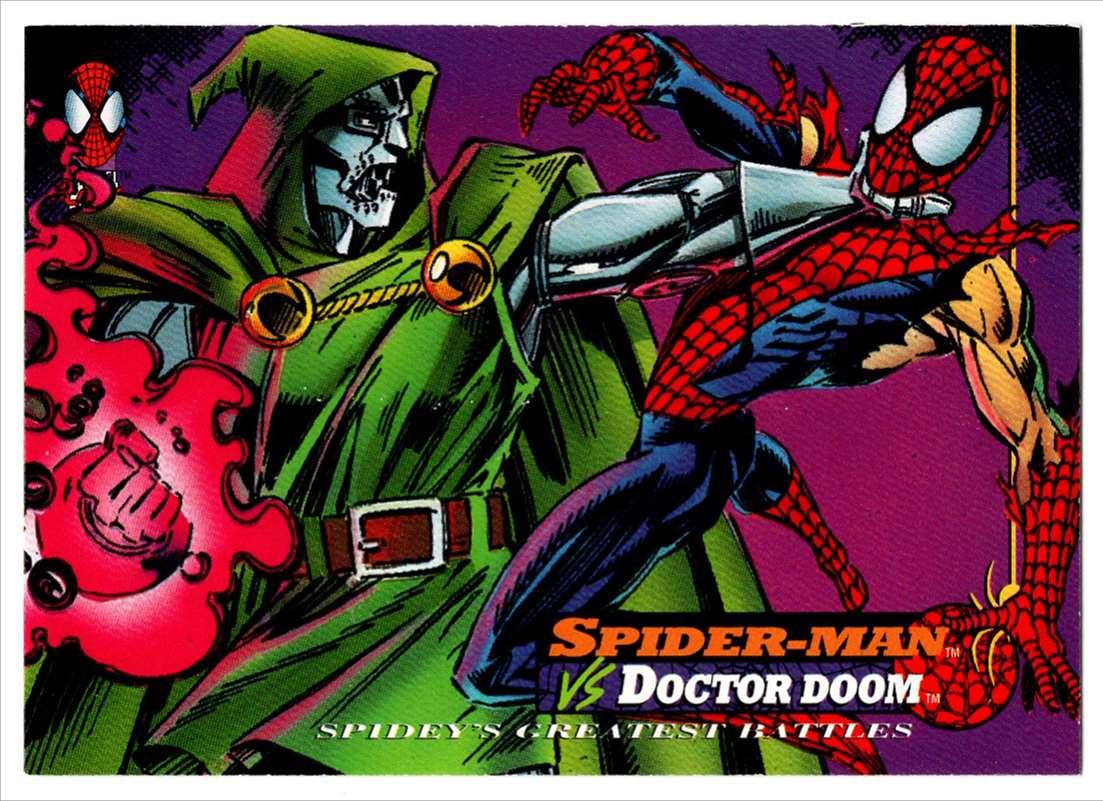 1994 Amazing Spider-Man Spider-Man Vs Doctor Doom #113 card front image