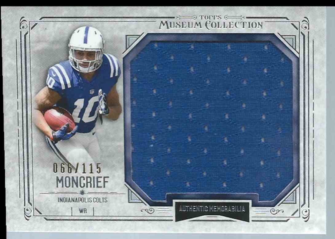 2014 Topps Museum Collection Donte Moncrief #MJRDM card front image
